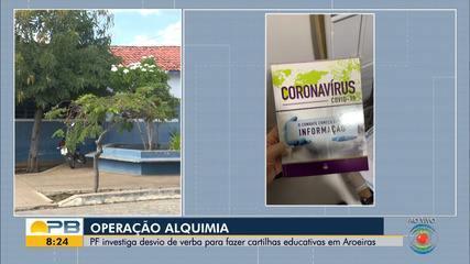 PF investiga desvio de verba usada no combate ao coronavírus pela Prefeitura de Aroeiras