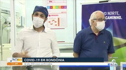 Coletiva sobre novos casos de coronavírus em Rondônia é realizada nesta quinta-feira (23)