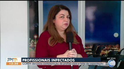 Coren denuncia falta de capacitação e contaminação de profissionais da saúde