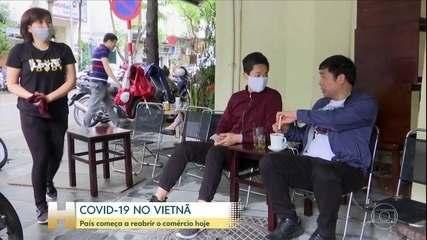 Vietnã começa a reabrir economia hoje depois de três semanas de isolamento social