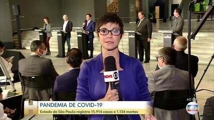 Governo Paulista diz que flexibilização da quarentena depende índice de isolamento