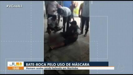 Homem é baleado ao tentar impedir um rapaz a entrar em farmácia de Marituba, no Pará