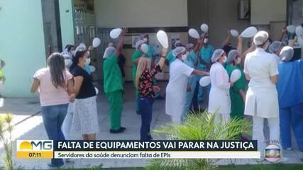 Servidores da Fhemig denunciam falta de EPIs