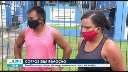 Reportagem mostra o drama da demora na remoção de corpos de mortos com Covid-19 no Pará