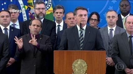 Bolsonaro diz que Moro não tem compromisso com o Brasil, mas apenas com seu próprio ego