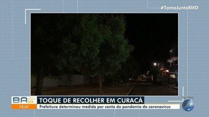 Prefeitura de Curaçá instaura toque de recolher na cidade por causa de pandemia