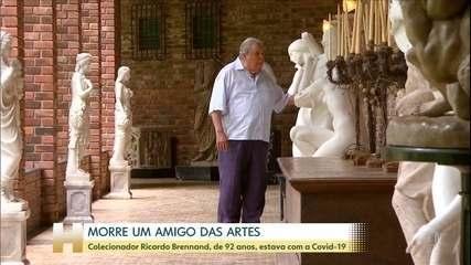 Morre no Recife o empresário Ricardo Brennand, aos 92 anos