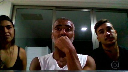 Bebeto, Romário e Galvão choram com transmissão do Tetra, e faixa dedicada a Senna é levada ao estúdio