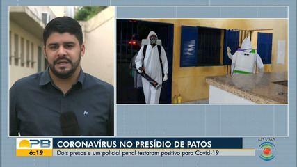 Detentos que testaram positivo para Covid-19 são transferidos de Patos para João Pessoa