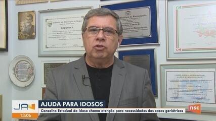 Conselho Estadual do Idoso faz apelo por doações para casas de repouso do estado