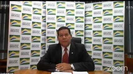 Mourão admite que governo tenta aproximação com o 'centrão'