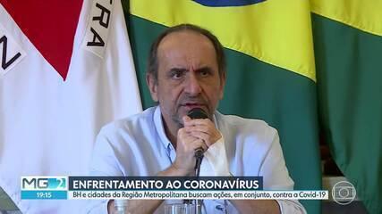 BH e cidades da Região Metropolitana planejam ações conjuntas para combater o coronavírus