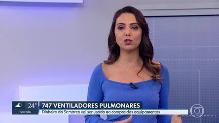 Governo de Minas vai usar dinheiro da Samarco para comprar ventiladores pulmonares