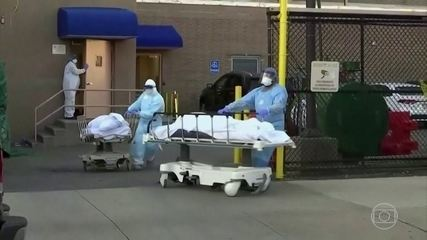 Estados Unidos se aproxima de um milhão de casos de coronavírus