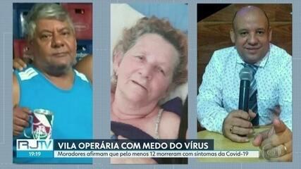 Moradores da Vila Operária, em Caxias, se assustam com mortes suspeitas de Covid-19