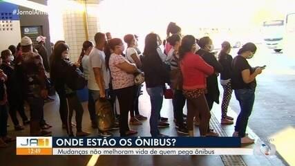 Passageiros seguem sofrendo com aglomeração no 1º dia de escalonamento do comércio