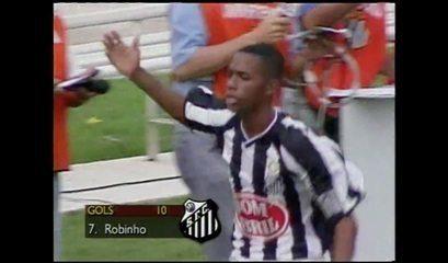Os gols de Corinthians 2 x 3 Santos na final do Campeonato Brasileiro de 2002