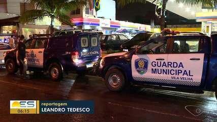 Guarda Municipal fiscaliza bares e postos de conveniência abertos em Vila Velha, ES