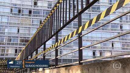PBH ordena retirada das grades instaladas na entrada do Edifício JK