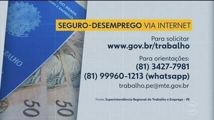 Saiba como solicitar o seguro-desemprego pela internet