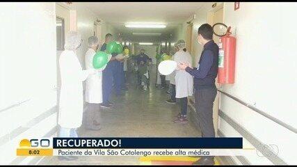 Paciente com Covid-19 se recupera e recebe festa na alta na Vila São Cottolengo; vídeo