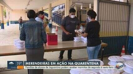 Jaguariúna inicia entrega de marmitas às famílias de alunos que estudam na rede pública