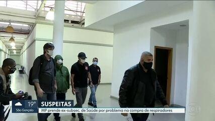 Ministério Público prende ex-subsecretário de Saúde por problema na compra de respiradores