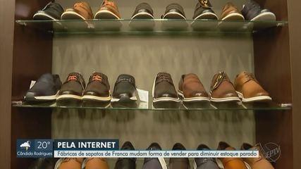 Fábricas de sapatos de Franca mudam forma de vender para diminuir estoque parado