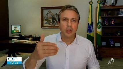 """Governador do Ceará fala sobre """"lockdown"""" em Fortaleza"""