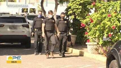 Polícia Federal faz operação contra desvio de recursos em obras da BR-101