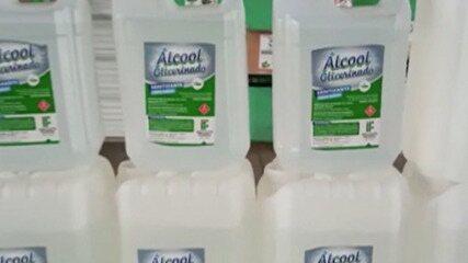 Instituto Federal em Suzano fabrica álcool em gel para realizar doações