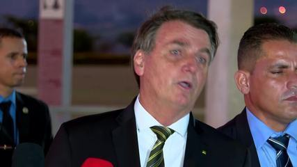 Bolsonaro fala sobre churrasco que faria no Palácio da Alvorada