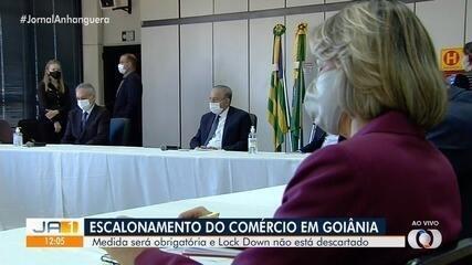 Secretário de Segurança estuda lockdown se taxa de isolamento não subir em Goiás