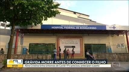 Grávida morre com suspeita de Covid-19 após passar por parto de emergência