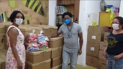 Solidariedade S/A: doação de alimentos e de kits de testes para ajudar a combater pandemia