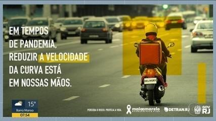 Número de acidentes diminui 40% no Rio durante isolamento