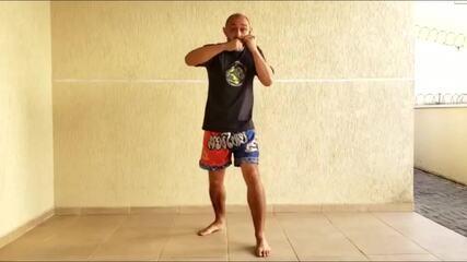 Minuto Esporte RPC: treino de muay thai
