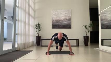 Minuto Esporte RPC: treino completo com aquecimento e alongamento