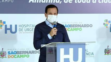 """Doria sobre Bolsonaro: """"Seja líder, se for capaz"""""""