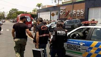 Menor autor de atentado no Colégio Goyases é solto após quase 3 anos