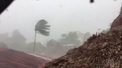 Tufão nas Filipinas atrapalha combate à Covid-19