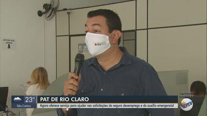 Seguro-desemprego e auxílio emergencial podem ser solicitados no PAT em Rio Claro
