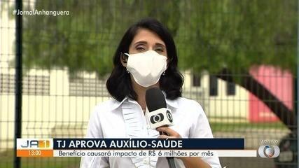 TJ-GO aprova auxílio-saúde de R$ 1,2 mil a juízes e desembargadores