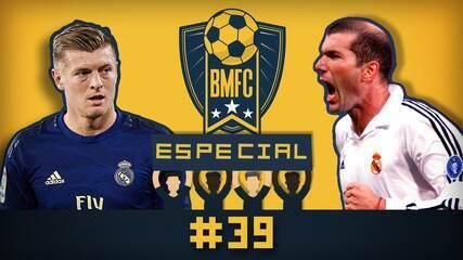 BMFC Especial #39: Golaço de Zidane faz 18 anos, e Kroos otimista com volta da Bundesliga