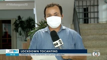 Governo decide decretar isolamento total em mais de 30 cidades no Tocantins