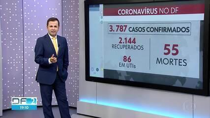 DF tem mais 4 mortes por Covid-19 e chega a 55 casos