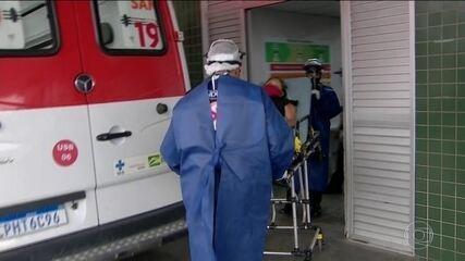 Multiplicação do número de doentes pela Covid-19 acelera no Amazonas