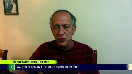 Secretário-geral diz que CBF vai investigar questão do repasse ao futebol feminino