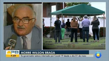 Familiares fazem últimas homenagens ao ex-governador Wilson Braga