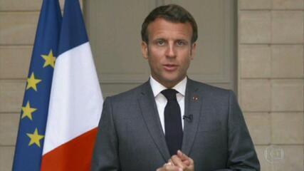 'A saúde humana não pode ser comprada ou vendida', diz Macron em assembleia da OMS